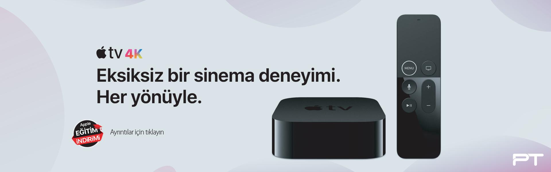 AppleTV ürünler eğitim indirimi ile Yetkili Çözüm Uzmanı Pozitif Teknoloji de