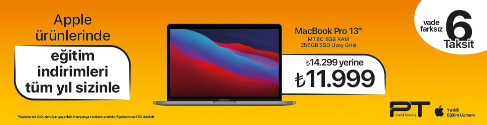 Macbook Pro  6 TAKSİT New