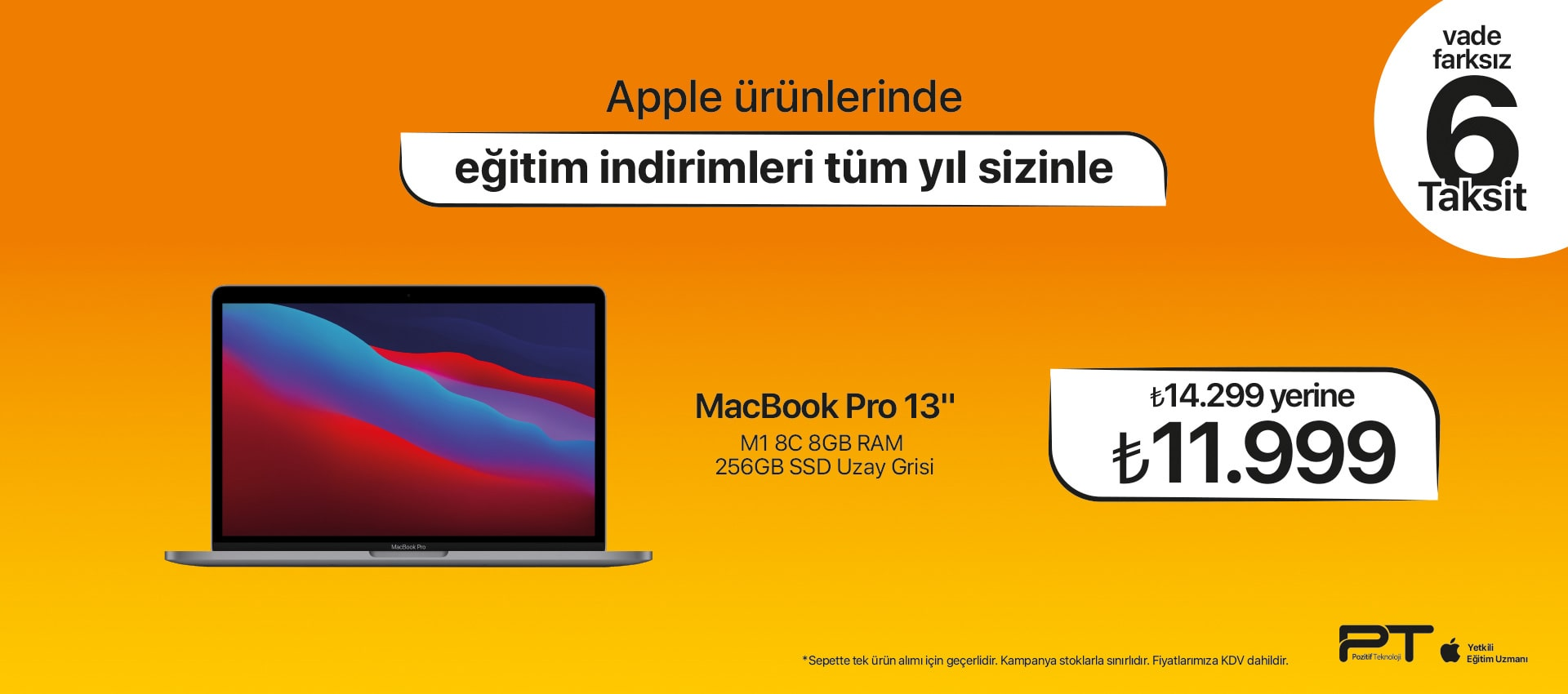 macbook  PRO 6 Taksit NEW