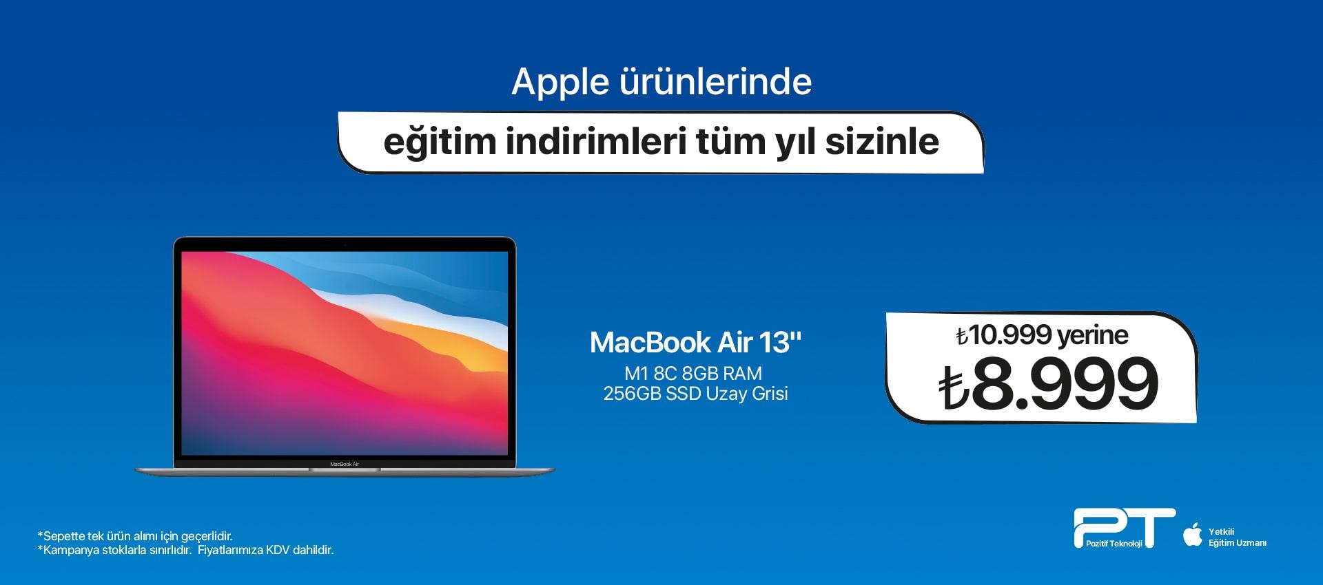 macbook air TAKSİTSİZ