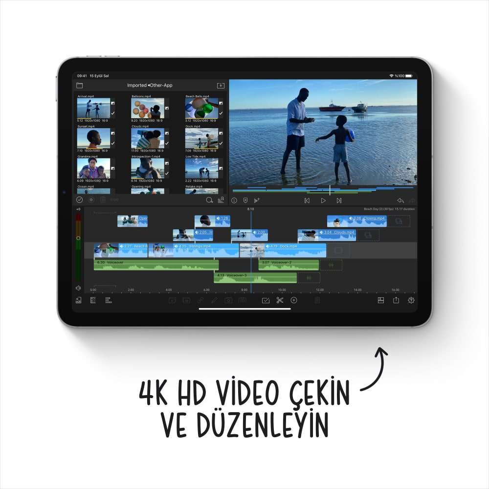 iPad Air 10.9 inç Wi-Fi + Cellular 256GB Yeşil MYH72TU/A