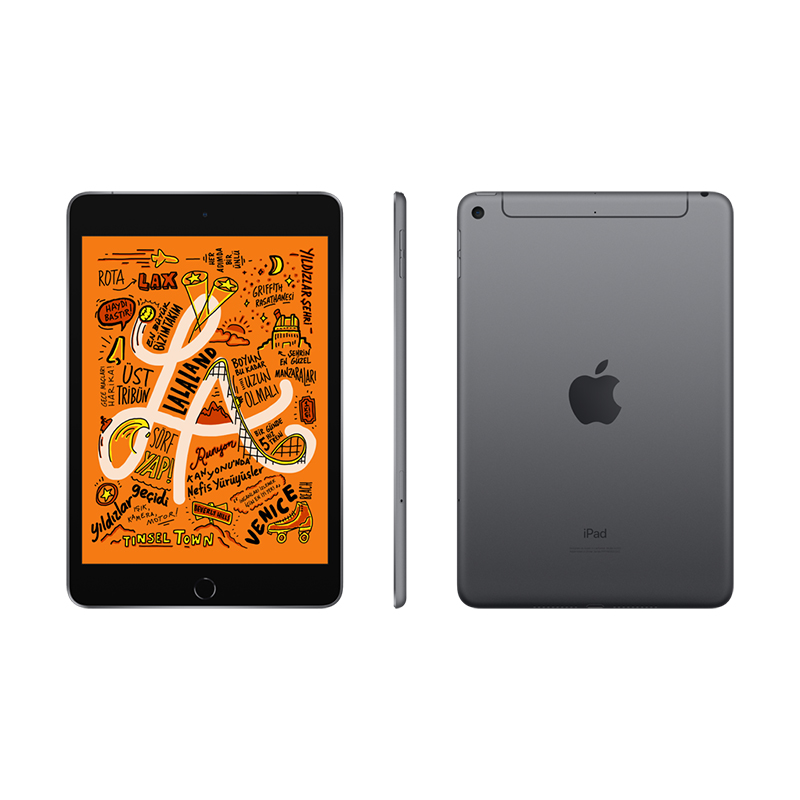 7.9 inç iPad mini Wi-Fi + 4G 256GB - Space Grey