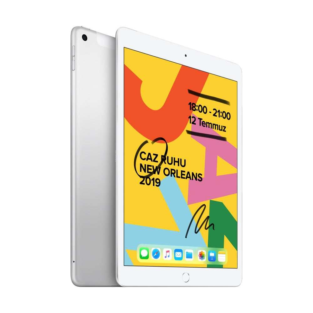 iPad 10.2 inç Wi-Fi + Cellular 32GB Gümüş MW6C2TU/A