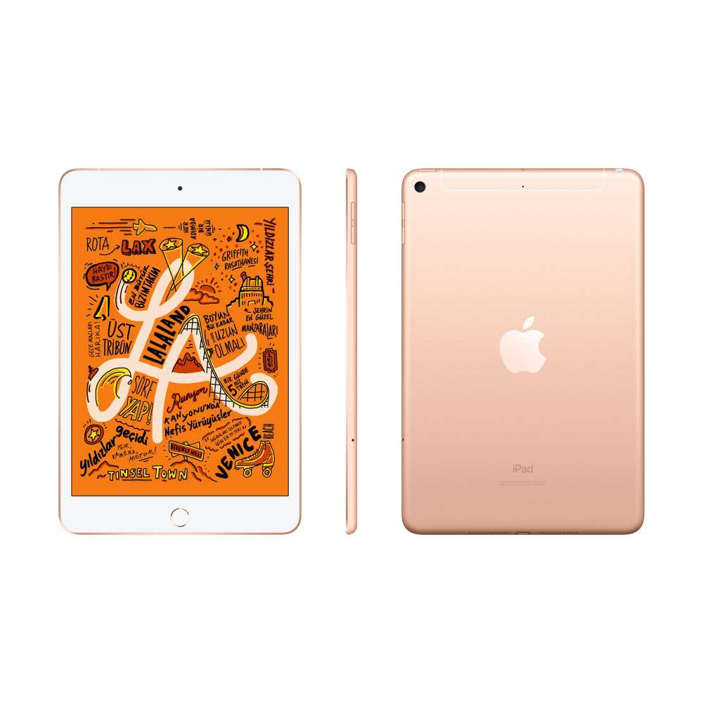 iPad mini 7.9 inç Wi-Fi + Cellular 64GB Altın MUX72TU/A