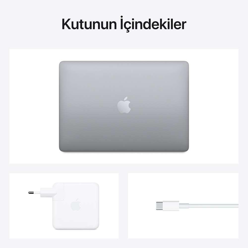 MacBook Pro 13.3 inç M1 8C 16GB RAM 512GB SSD Uzay Grisi Z11C0007Y