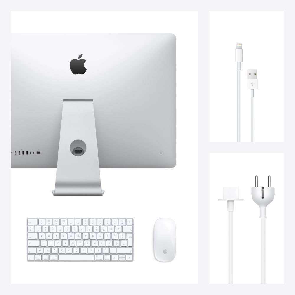 iMac 27 inç 5K 3.3GHz 6C i5 8GB RAM 512GB SSD 4GB Radeon Pro 5300 MXWU2TU/A