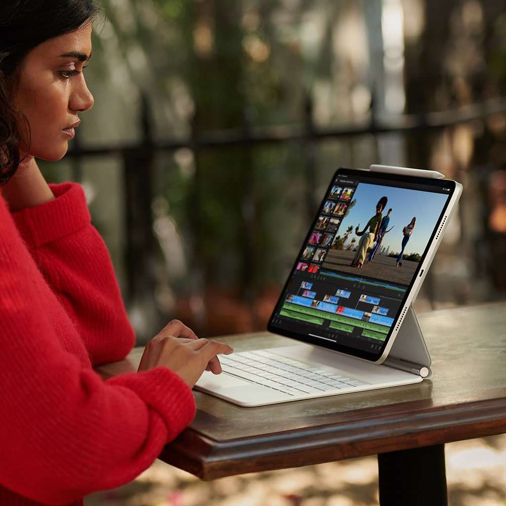 iPad Pro 12.9 inç Wi‑Fi + Cellular 2TB Uzay Grisi MHRD3TU/A