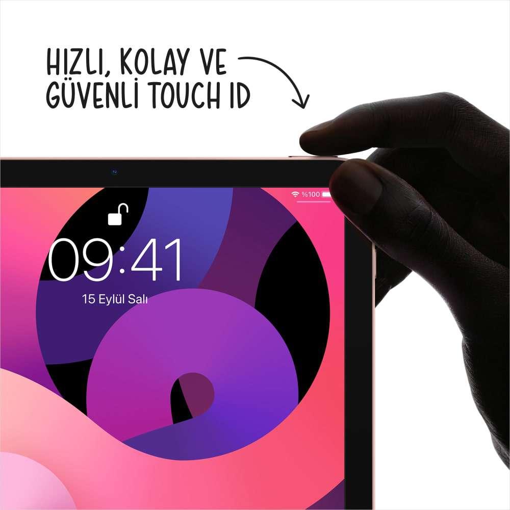 iPad Air 10.9 inç Wi-Fi + Cellular 256GB Gümüş MYH42TU/A