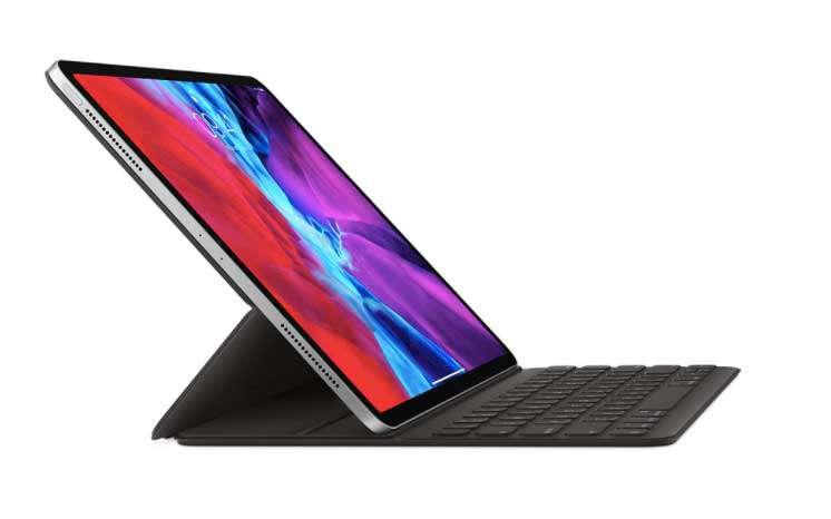 12.9 inç iPad Pro (4. nesil için) Smart Keyboard Folio Türkçe Q Klavye MXNL2TQ/A