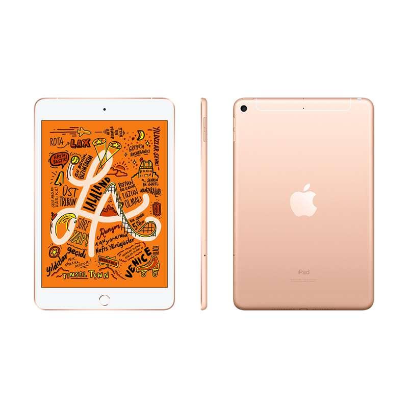 7.9 inç iPad mini Wi-Fi + 4G 256GB - Gold