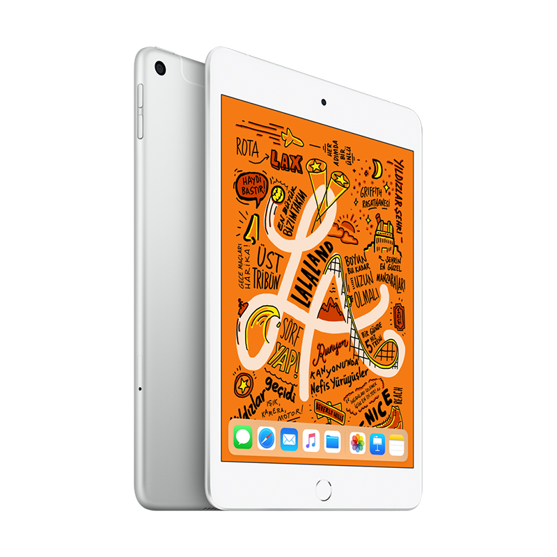 7.9 inç iPad mini Wi-Fi + 4G 256GB - Silver