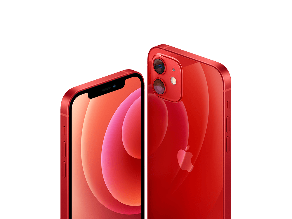 iPhone 12 128GB (PRODUCT) RED MGJD3TU/A