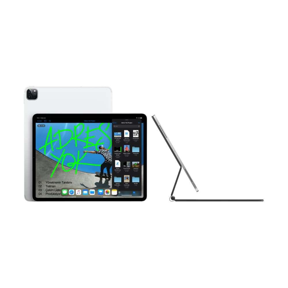 iPad Pro 12.9 inç Wi-Fi + Cellular 128GB Gümüş MY3D2TU/A