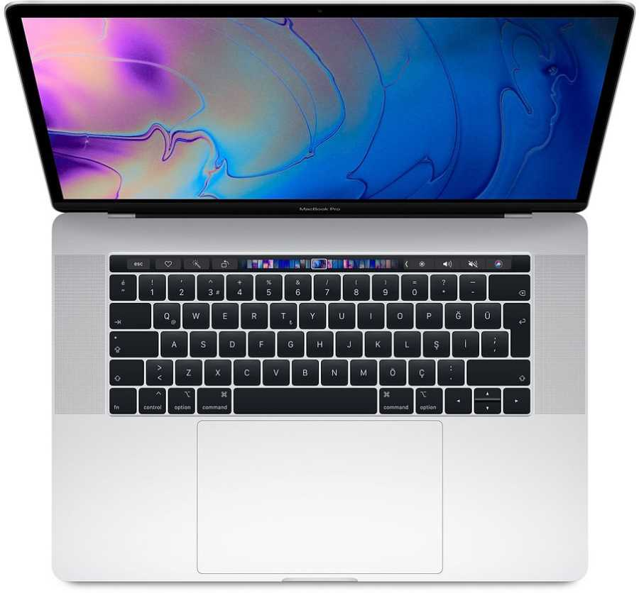 MacBook Pro 15'' TB 2.6GHz 6C i7 16GB 256GB Silver