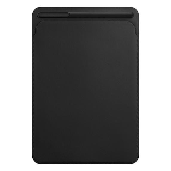 10.5 inç iPad Pro Deri Zarf Kılıf - Siyah