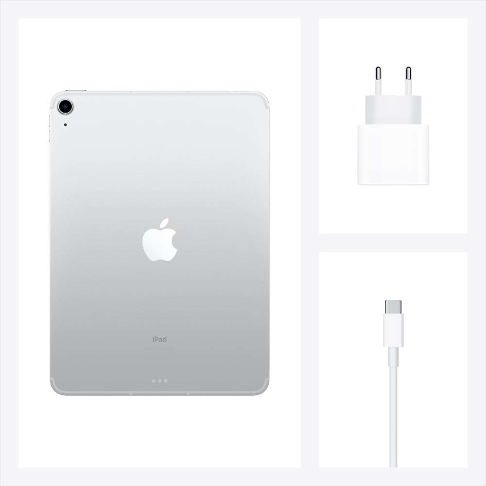 iPad Air 10.9 inç Wi-Fi + Cellular 64GB Gümüş MYGX2TU/A