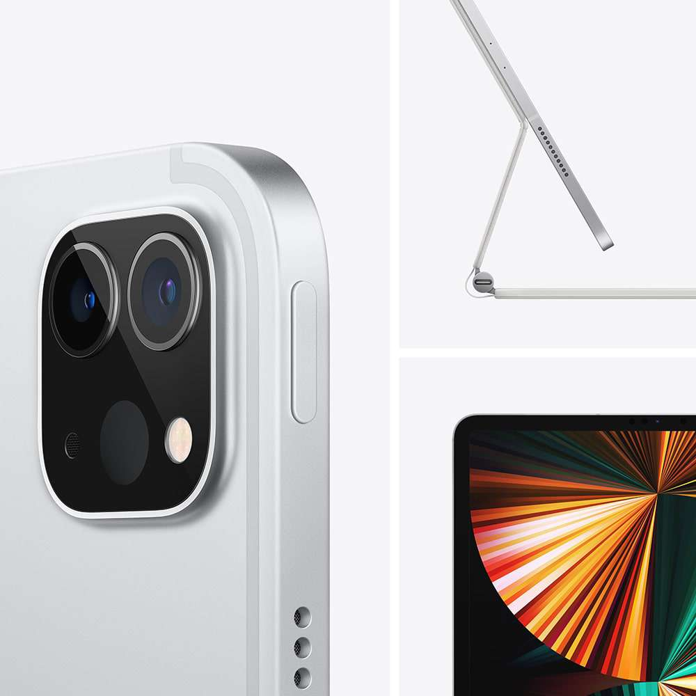 iPad Pro 12.9 inç Wi‑Fi + Cellular 2TB Gümüş MHRE3TU/A