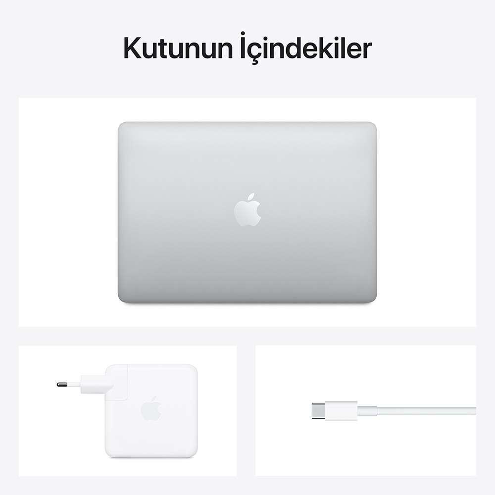 MacBook Pro 13.3 inç M1 8C 8GB RAM 256GB SSD Gümüş MYDA2TU/A