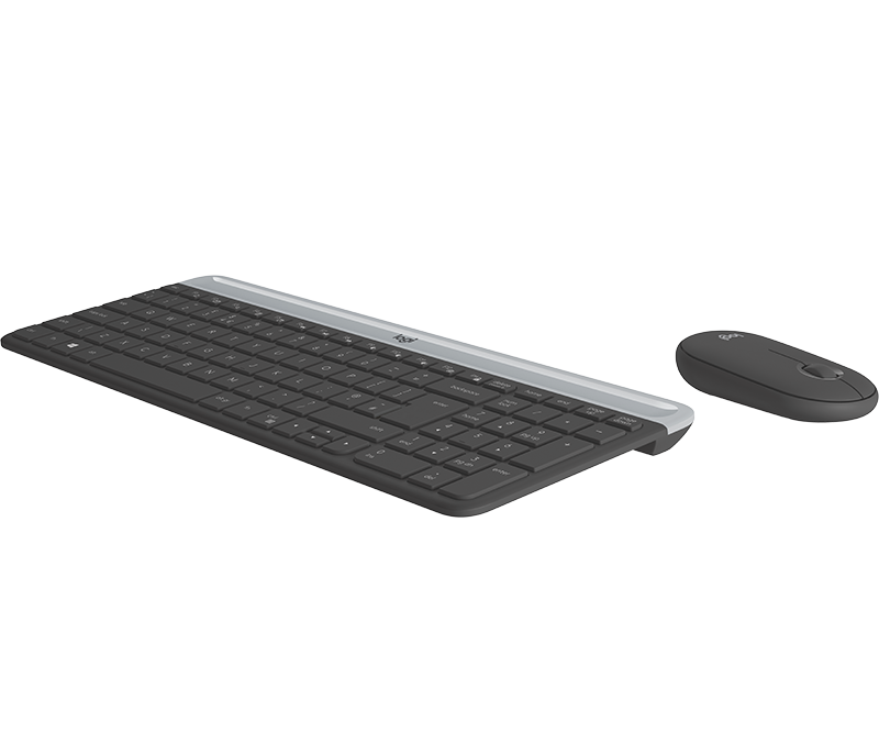 Logitech MK470 Kablosuz Klavye ve Mouse Seti Siyah 920-009435