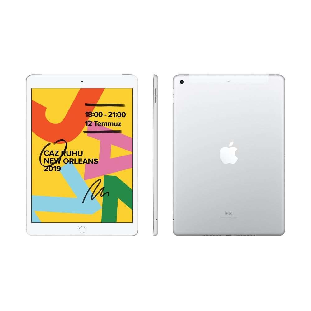 iPad 10.2 inç Wi-Fi + Cellular 128GB Gümüş MW6F2TU/A
