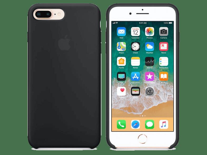 iPhone 8/7 Plus Silikon Kılıf Siyah MQGW2ZM/A