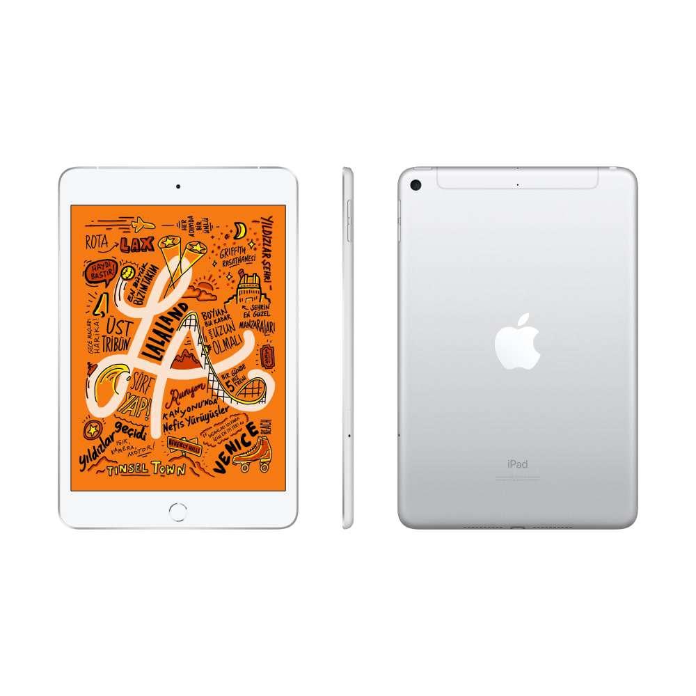 iPad mini 7.9 inç Wi-Fi + Cellular 256GB Gümüş MUXD2TU/A