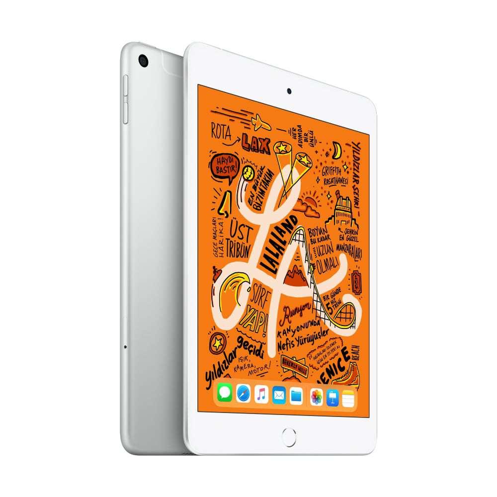 iPad mini 7.9 inç Wi-Fi + Cellular 64GB Gümüş MUX62TU/A