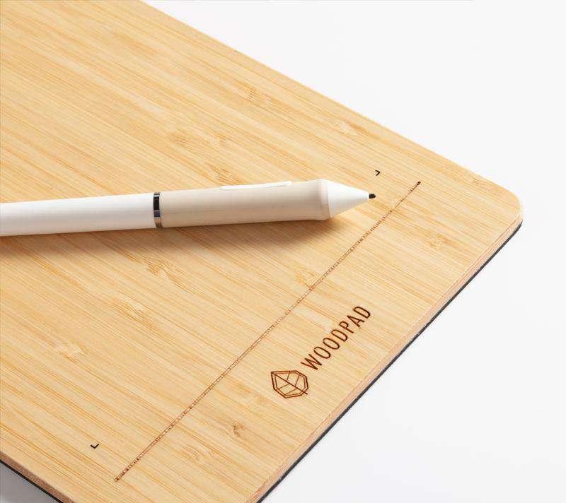 ViewSonic WoodPad 7 Bambu Grafik Tablet PF0730