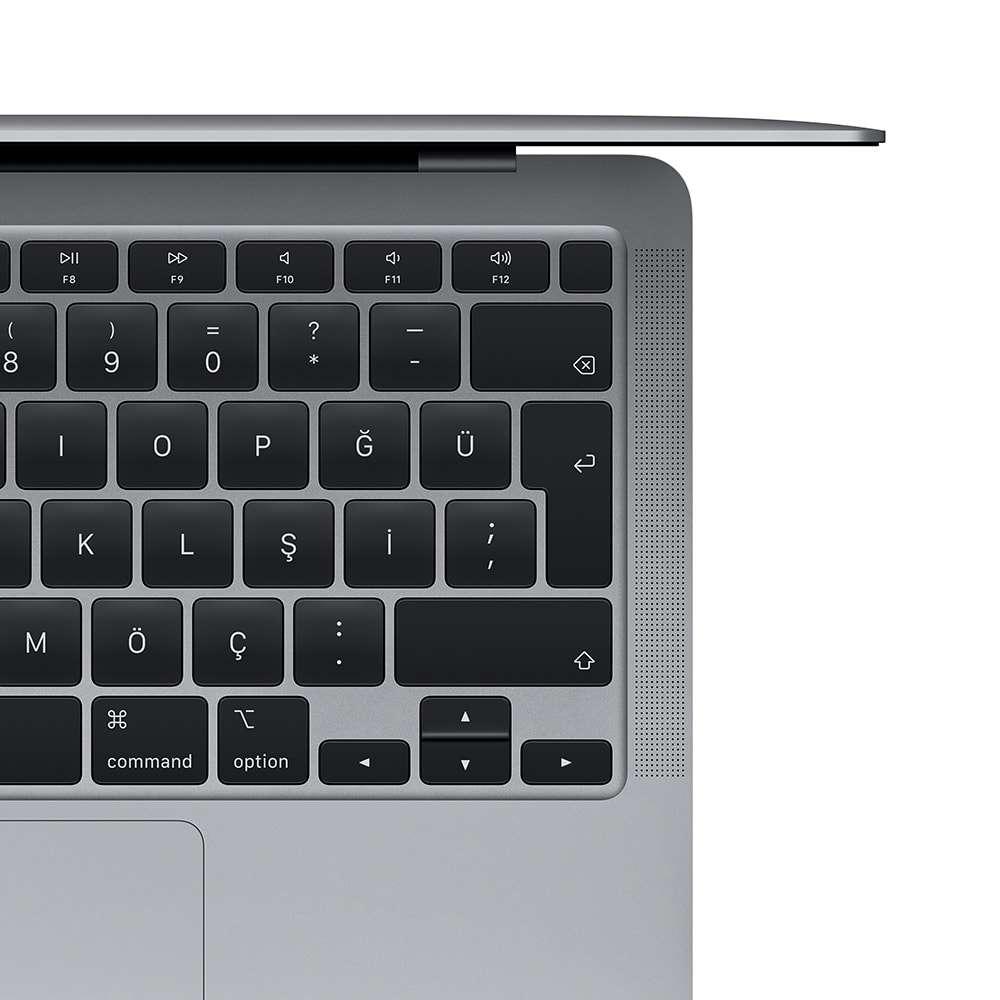 MacBook Air 13.3 inç M1 8C 8GB RAM 256GB SSD Uzay Grisi F Klavye Z1240009J