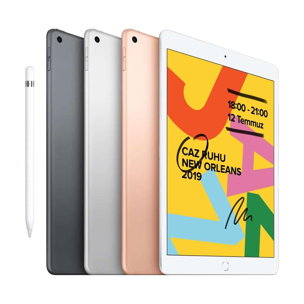 iPad 10.2 inç Wi-Fi 128GB Gümüş MW782TU/A