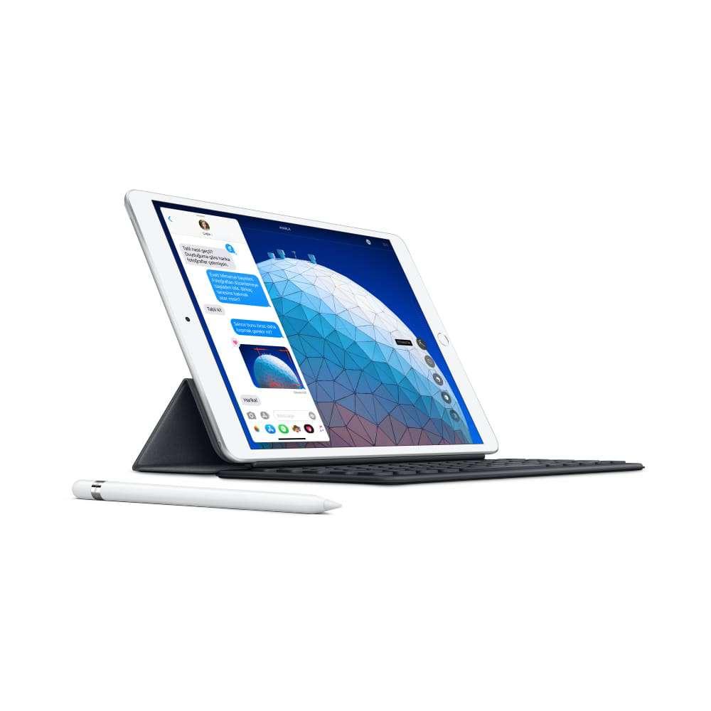 iPadAir 10.5 inç  Wi-Fi + Cellular 256GB Gümüş MV0P2TU/A