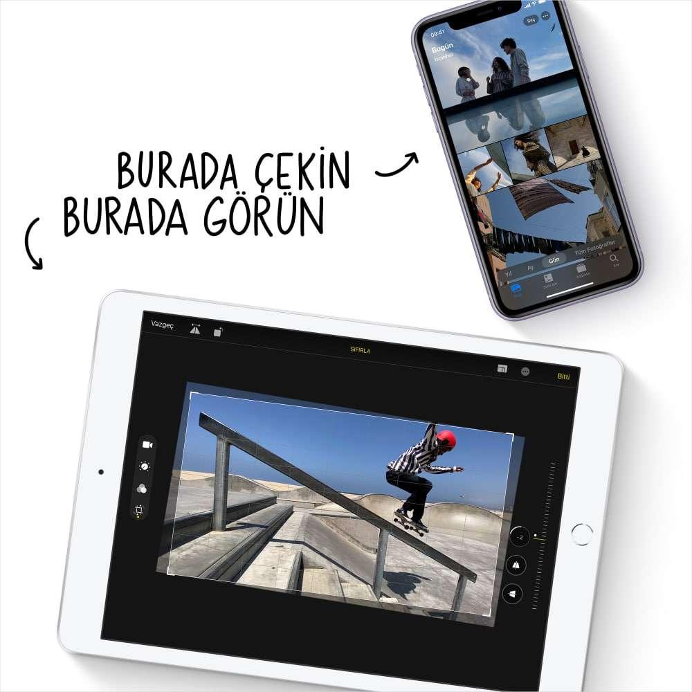 iPad 10.2 inç Wi-Fi 128GB Uzay Grisi MYLD2TU/A