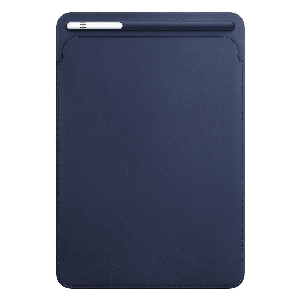 10.5 inç iPad Pro Deri Zarf Kılıf - Gece Mavisi