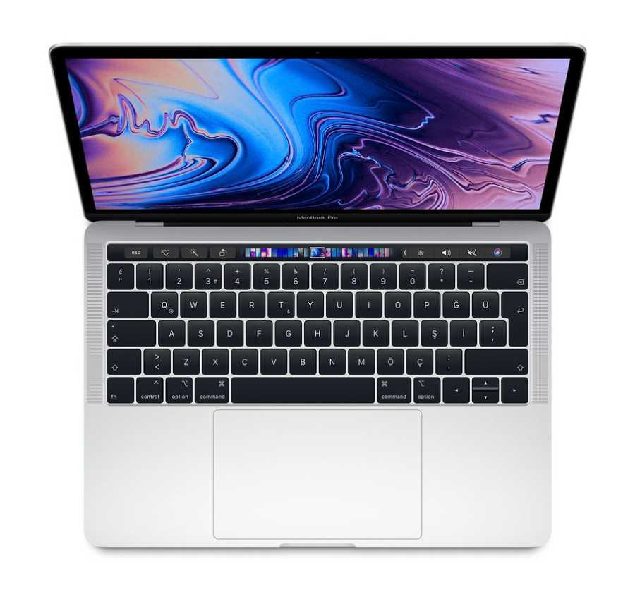 MacBook Pro 13 inç Touch Bar 1.4GHz QC i5 8GB RAM 128GB SSD Gümüş MUHQ2TU/A