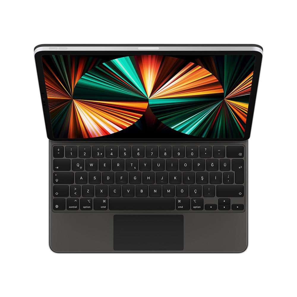 12.9 inç iPad Pro (5. nesil) için Magic Keyboard Türkçe Q Klavye Siyah MJQK3TQ/A