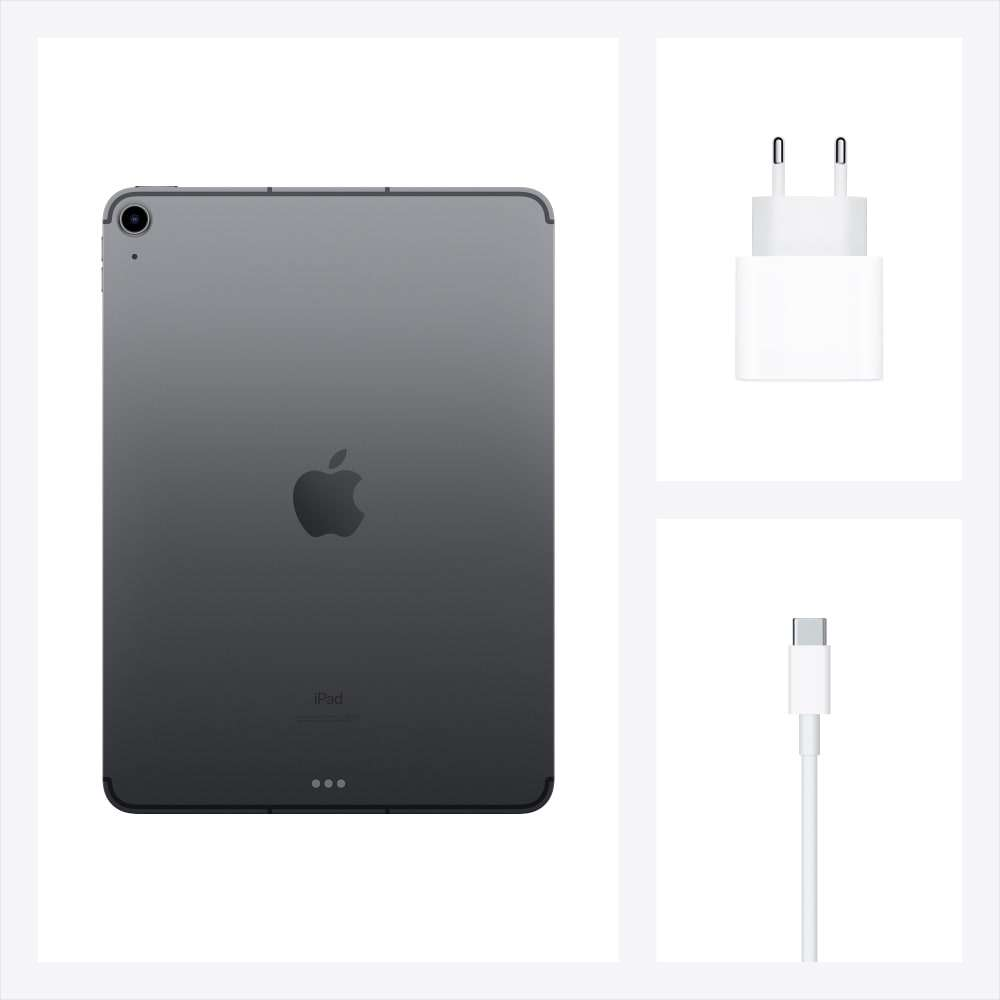 iPad Air 10.9 inç Wi-Fi + Cellular 256GB Uzay Grisi MYH22TU/A