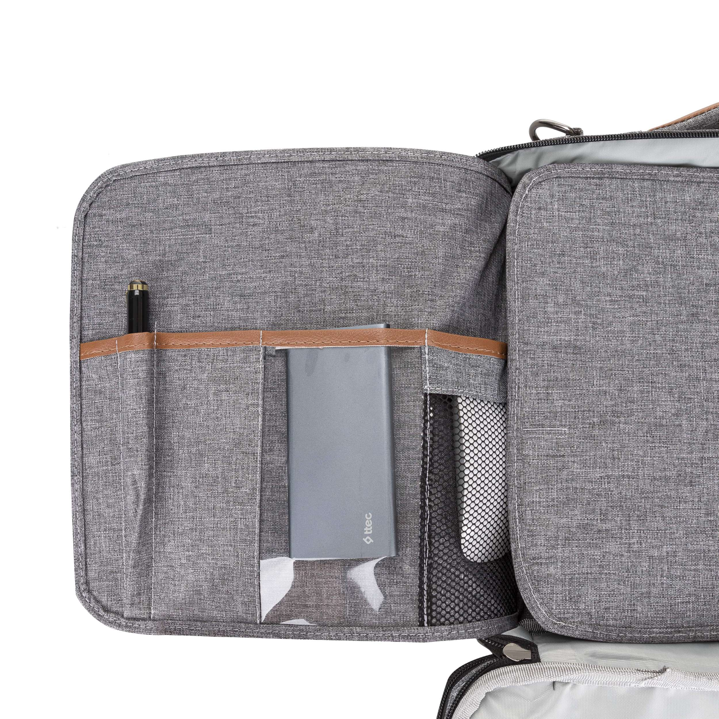 PT 16 inç SmartPack Notebook Çantası Gri