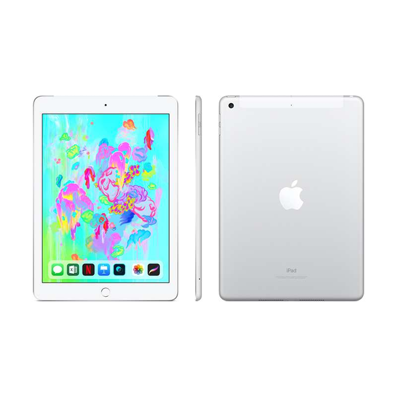 9.7-inch iPad Wi-Fi + 4G 32GB - Silver